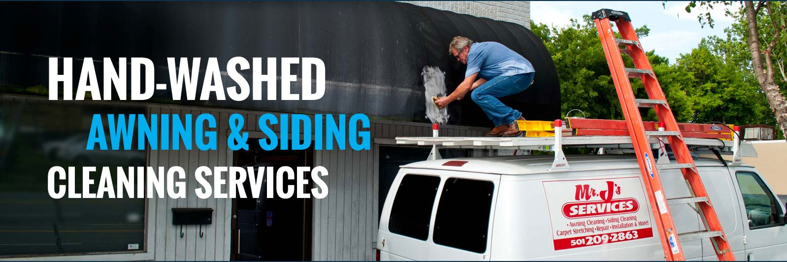 Mr. Ju0027s Services | Awning Cleaning U0026 Siding Cleaning Services